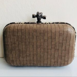 Balenciaga Style Box Clutch by Mystique from Macys
